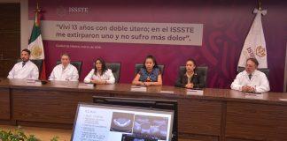 Médicos le encuentran dos úteros a niña de 13 años, le extirpan uno con cirugía robótica