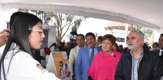 Ayuntamiento de Zinacantepec realizó la Feria de Salud 2019