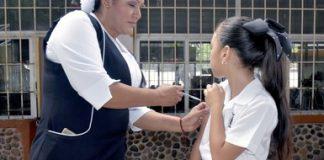 Más de un millón de vacunas contra VPH se aplicarán a niñas de 11 años de edad