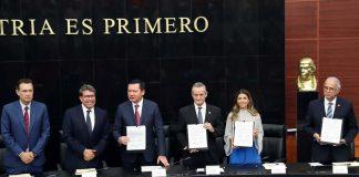 Senado de la República e Instituto Nacional de Salud Pública firman convenio de colaboración