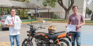 Diseñan politécnicos sistema antirrobo de motocicleta