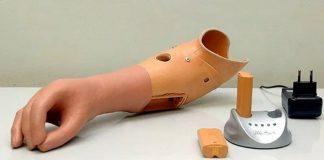 Prótesis de mano restaura más del 90% de la funcionalidad original