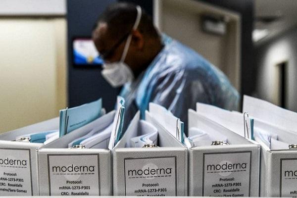 Farmacéutica Moderna termina paso previo a autorización de vacuna covid