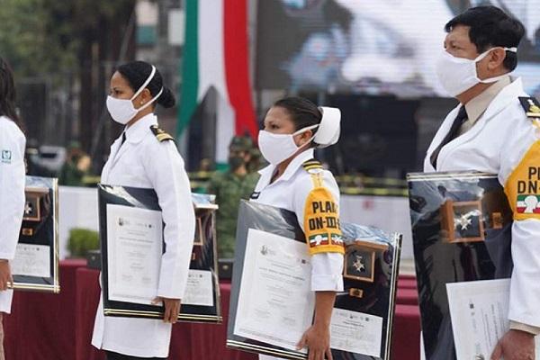 Gobierno otorga condecoración 'Miguel Hidalgo' por combate a la pandemia