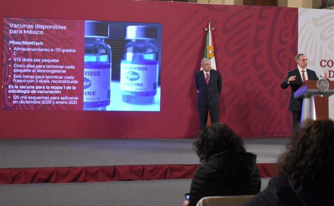 Gobierno de México presenta la Política Nacional de Vacunación contra COVID-19