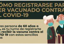 Pasos para registrarte a vacunación contra Covid-19, si tienes más de 60 años