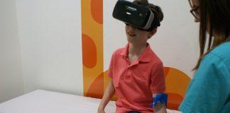 Innovador tratamiento con lentes VR para niños con ambliopía
